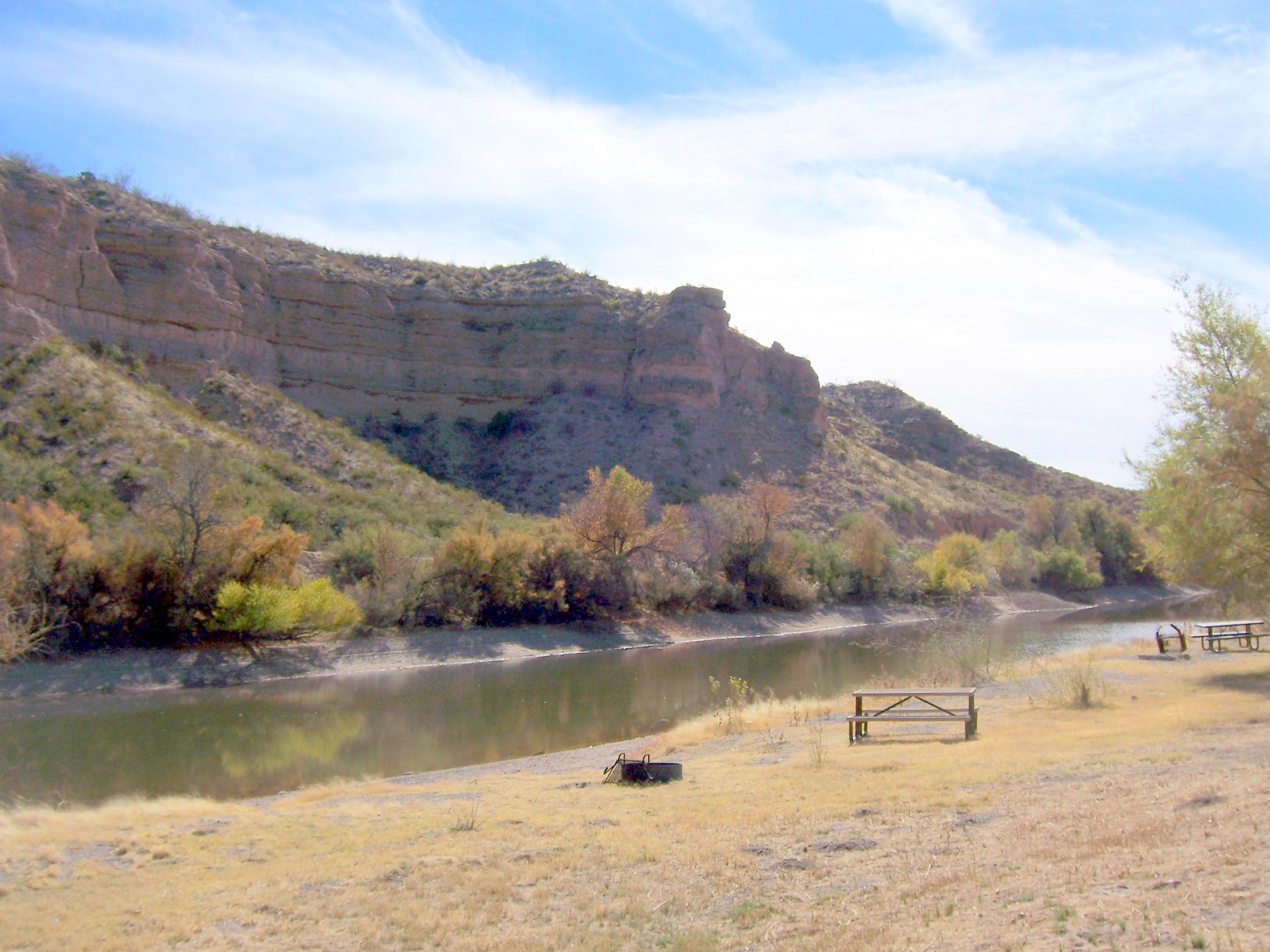caballo dam fishing