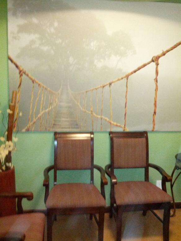 Dr. Eva's Waiting Area