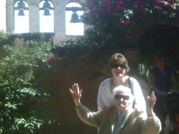 mom at San Juan